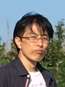 face photo of Mr. Shimomura